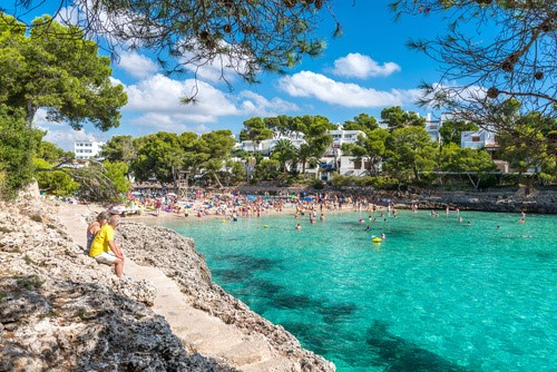 Best resorts for couples in Majorca Cala D'or