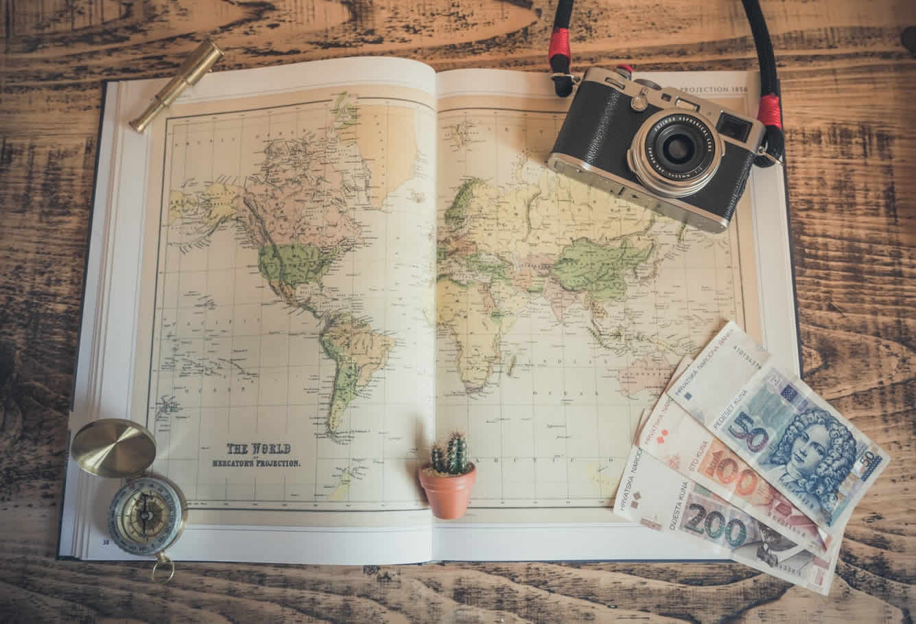 Where to travel spring 2018
