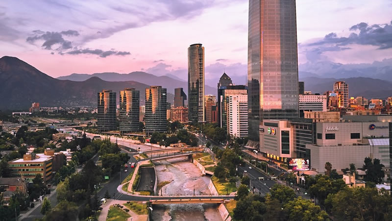 Most Scenic Airport Transfers Santiago Airport to city centre