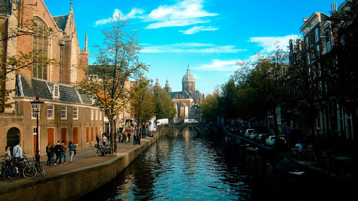 best places to visit in August - Amsterdam city break